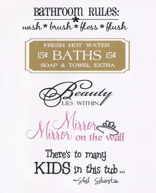 Quotes For The Bathroom: Best 25+ Bathroom Sayings Ideas On Pinterest