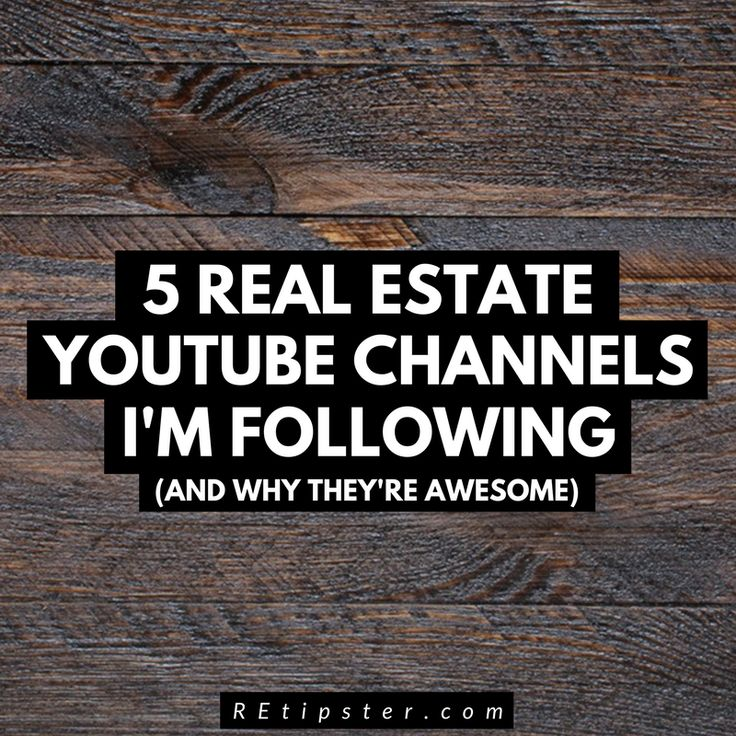 5 Real Estate Investing YouTube Channels I'm Following (and Why They're Awesome)!