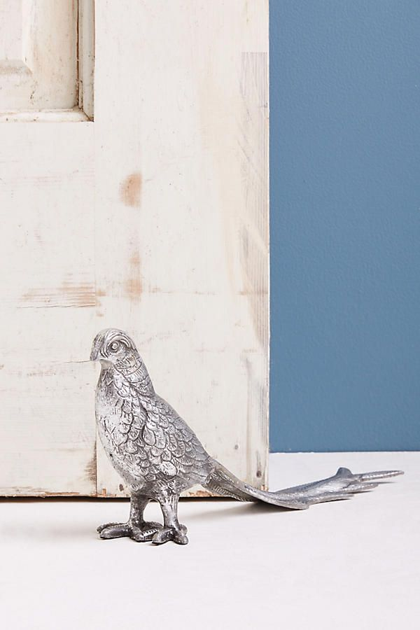 Slide View: 1: Friendly Pheasant Doorstop