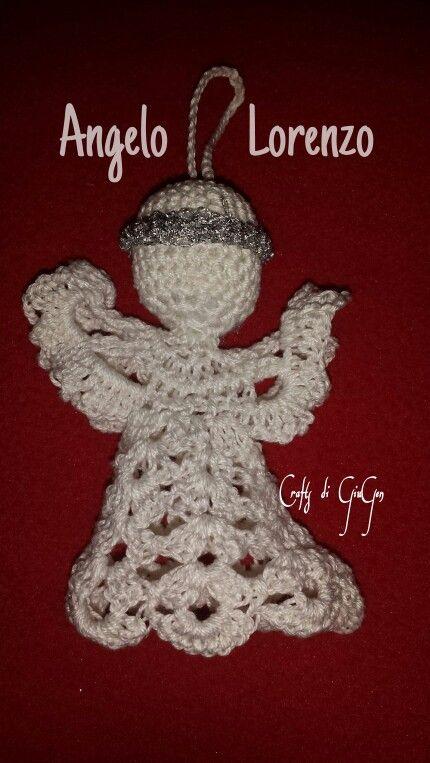 Angeli Lorenzo all'uncinetto. Crochet Angel Lawrence