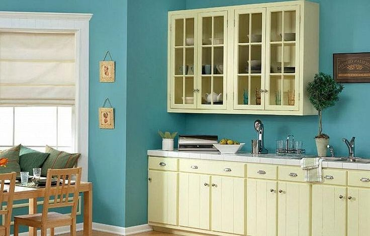 25 best ideas about yellow kitchen paint on pinterest for Yellow and blue kitchen ideas