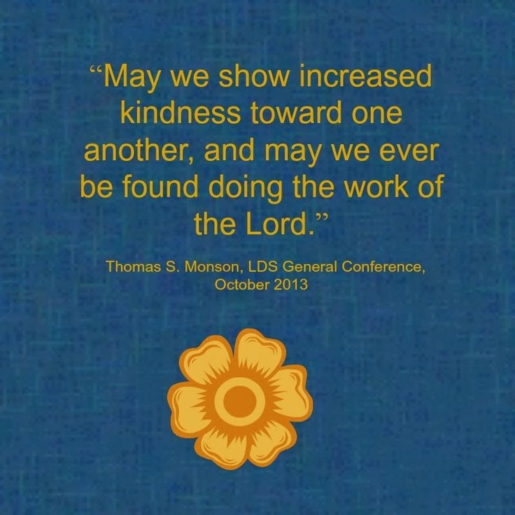 Pres. Monson quote from Daily Wow. #LDS #Mormon
