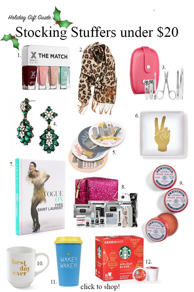 Ana Luiza shares another gift guide with stocking stuffers under $20 perfect for the women in your life