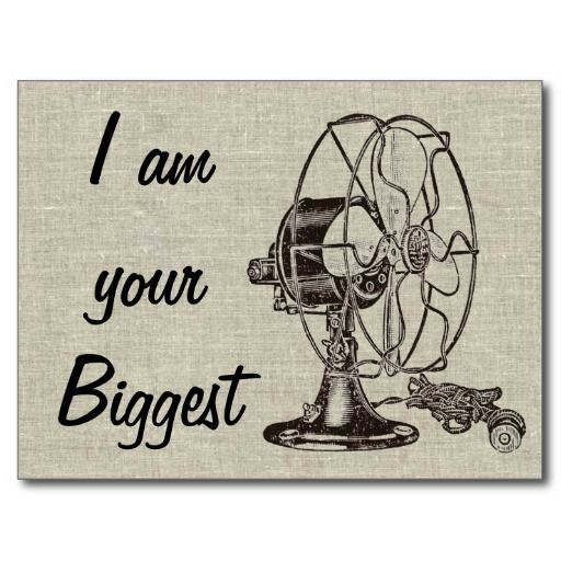 Vintage Steampunk I Am Your Biggest Fan Postcard