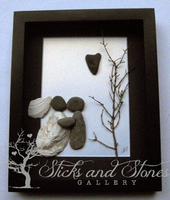 Wedding Gifts Unique Engagement Gift Wedding Gift  by SticksnStone