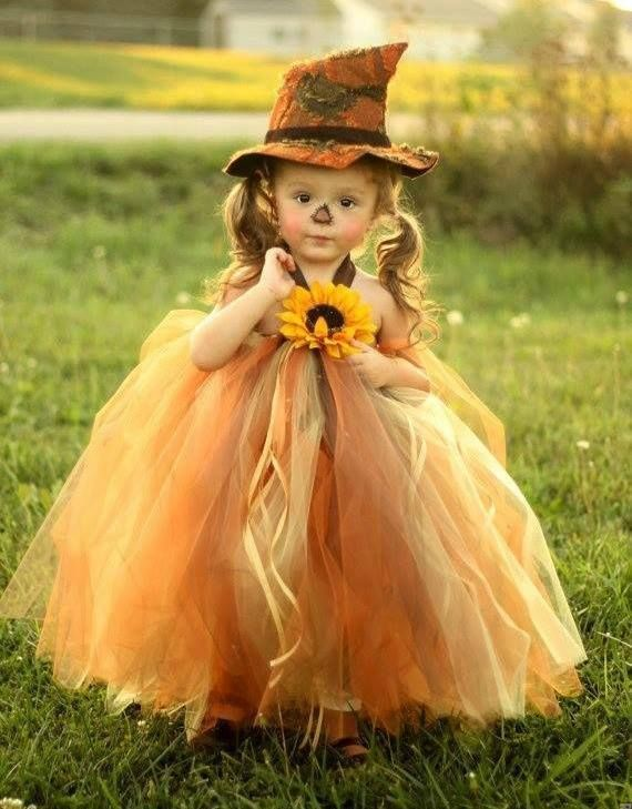 autumn witchie - change up the hat, colors & flower = a cute flower girl dress.