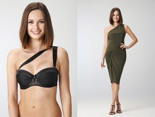 Are you for prom with wearing One shoulder dress?This bra keep safe and Comfortable.#Fahion,#bra.