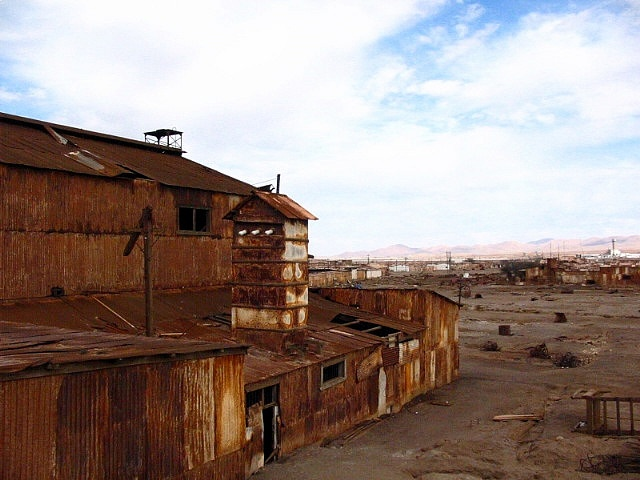 Humberstone and Santa Laura Saltpeter Works - Iquique - Chile  #World Heritage