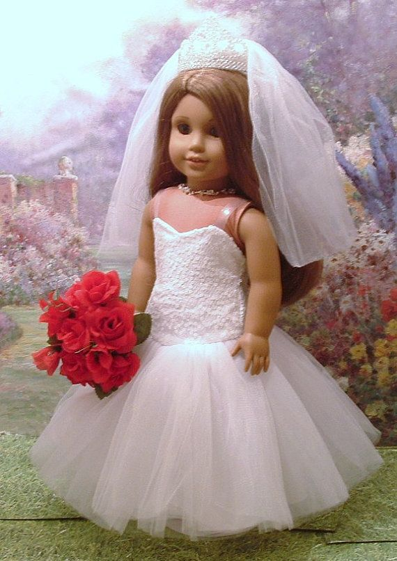 Beautiful Bride Fall 2014 for American Girl by MyGirlClothingCo