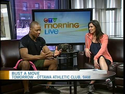 Fitness Guru Tommy Europe stopped by CTV Morning Live ahead of Saturday's Bust a Move event for the Ottawa Regional Cancer Foundation. Video 1 of 2.
