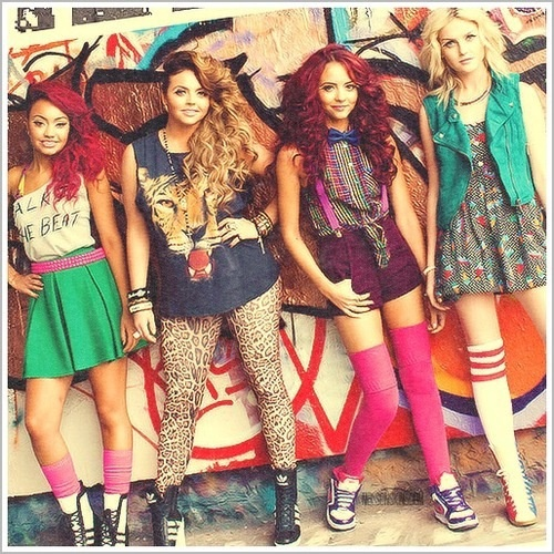 Little Mix!!! YAY! LOVE their sense of style!