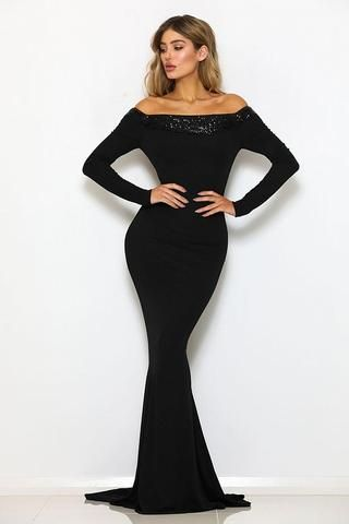 Black Evening Gowns Uk Formal Dresses Little Black Dresses