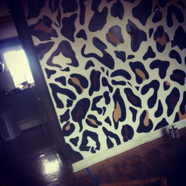 Leopard Bedroom Ideas For Painting: Best 25+ Cheetah Print Walls Ideas On Pinterest