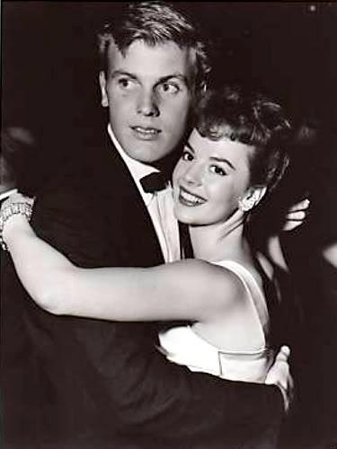 Tab Hunter and Natalie Wood