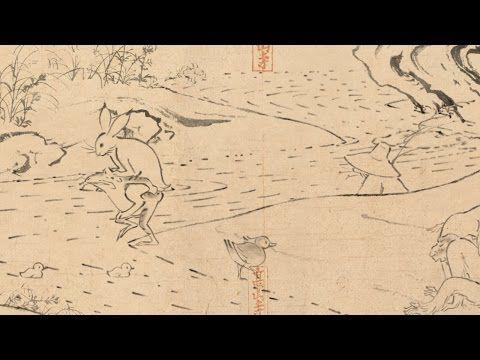 "Marubeni Group ""Choju Jinbutsu Giga - Companion""(Scrolls of Frolicking Animals and Humans)"" - YouTube"