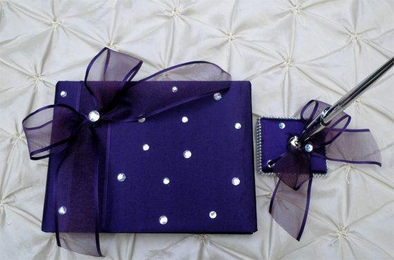 Gorgeous Wedding Guest Book Pen Set  by WeddingsofDesign on Etsy, $50.00