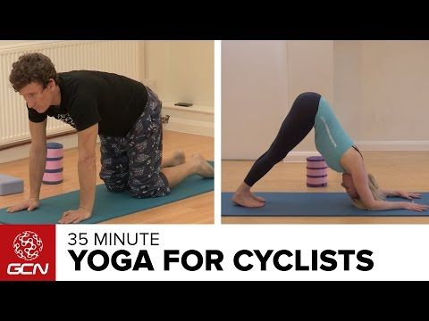35 Minute Yoga Workout For Cyclists With FiT - GCN Does Yoga | Global Cycling Network