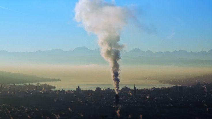 Zürich am Morgen.