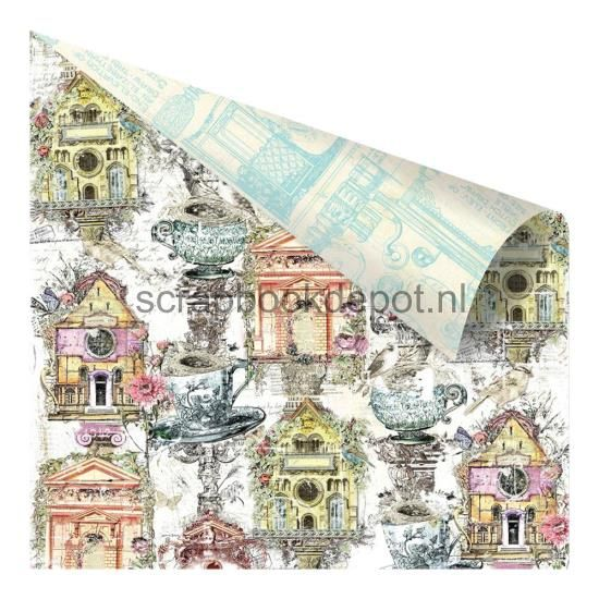 Prima Marketing Garden Fable - Birdhouse