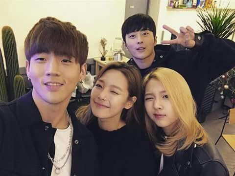 K.A.R.D. I haven't seen an official coed group since Coed School, and I welcome them! Can't wait to see what goodies they have planned for when they debut