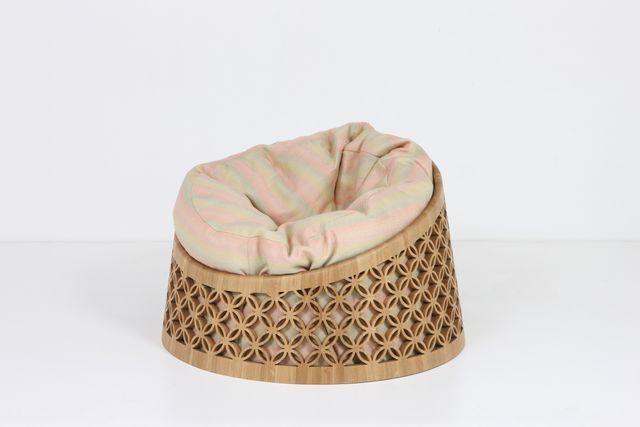 Remarkable Arabesque Bean Bag Chair By Nada Debs The Exceptional Machost Co Dining Chair Design Ideas Machostcouk