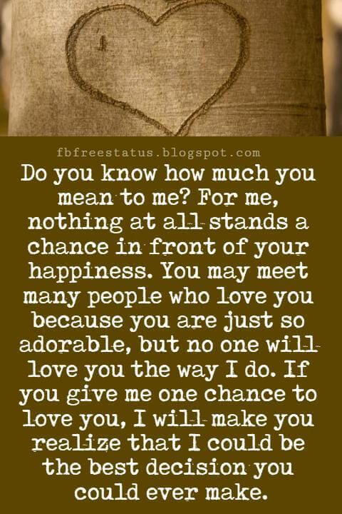 I Love You Messages For Someone Special In Your Life Love Quotes