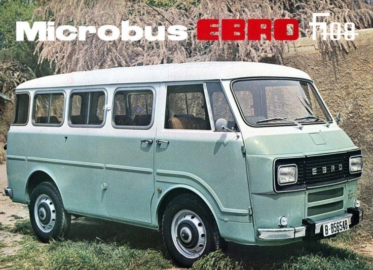 EBRO F-108 MICROBUS - Furgonetas EBRO: Unas pequeñas inolvidables