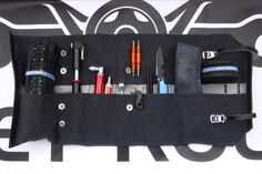 JET tool roll wrap great cycling tool roll!