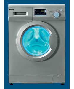 haier HWD1270 Silver Washing Machine http://www.comparestoreprices.co.uk/washing-machines/haier-hwd1270-silver.asp