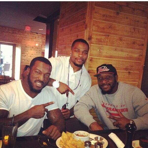 #Niners Patricks Willis, Navorro Bowman & Perrish Cox - the 3 best LBs in the #NFL!