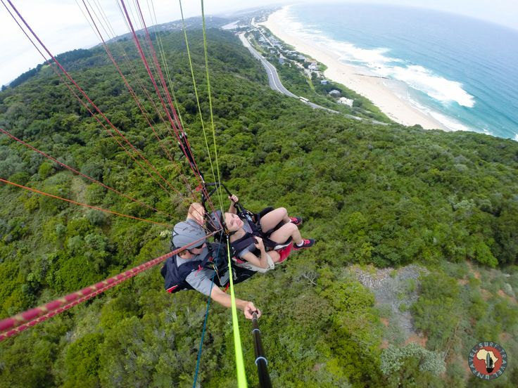 Paragliding the Garden Route! Awesome adventures on Surf Tour!