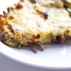 Gå ned i vekt med denne lavkarbo omeletten / Oppskrift