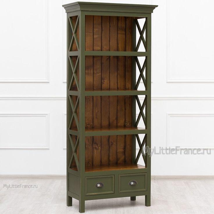 Книжный шкаф с ящиками Leon