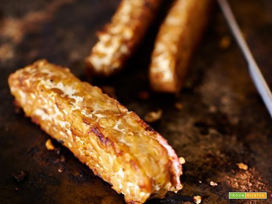 tempeh alla piastra  #ricette #food #recipes