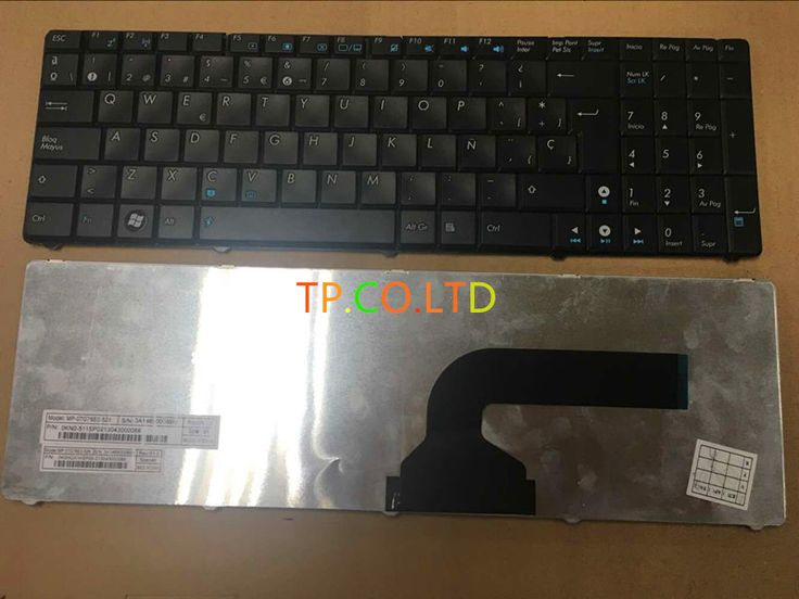 Wholesale  Free Shipping New Keyboard For Asus G60 N50 G51