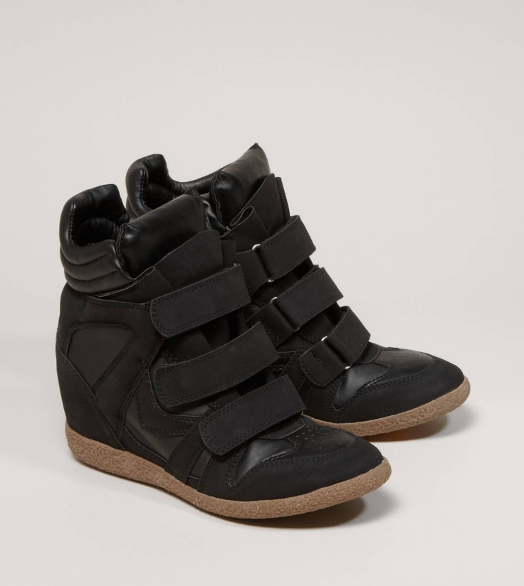 Cute sneaker wedge