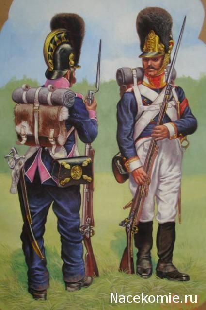 Wurttemburg;- Line Infantry, Grenadier 8th Regiment 1813 & Grenadier NCO 6th Regiment 1812