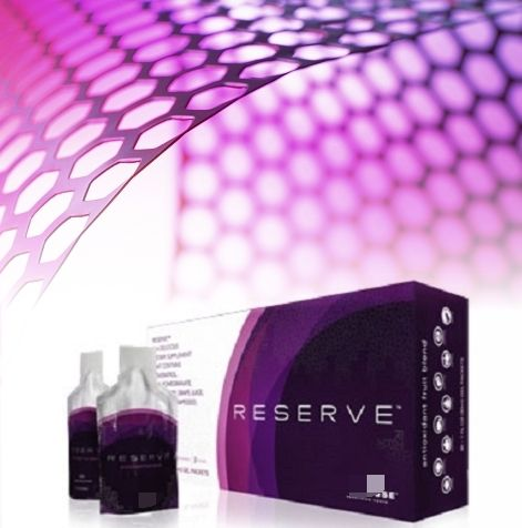 INTRODUCING RESERVE™ - a unique blend of super-fruits containing botanical antioxidants that work together to provide the support your body craves. Sweetened by nature, RESERVE™ delicious, sweet berry taste contains no added sugars, no artificial flavours, colours or sweeteners.
