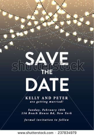 party save the date templates