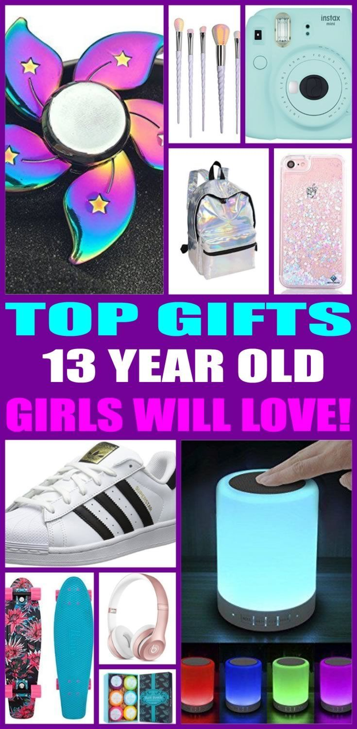 Top Gifts For 13 Year Old Girls Here Are The Best That Special 13th Birthday Or Her Christmas Present Thirteen Will