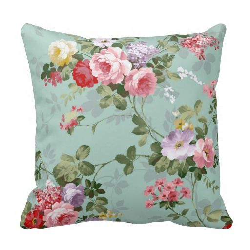 74 best Floral Throw Pillows images on Pinterest Decorative throw pillows, Accent pillows and ...