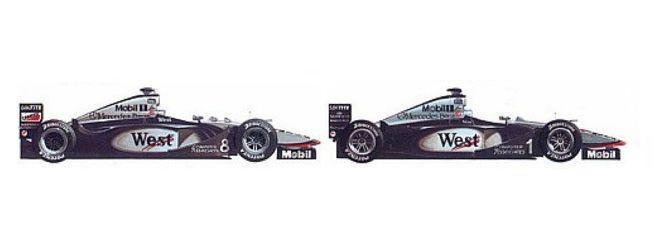 Mika Hakkinen 1998, 1999