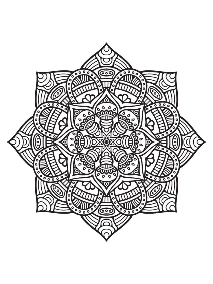 1000 ideas about Mandala Printable