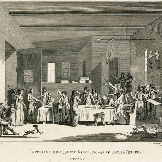 An overview of the french revolutionary committee of public safety in 18th century