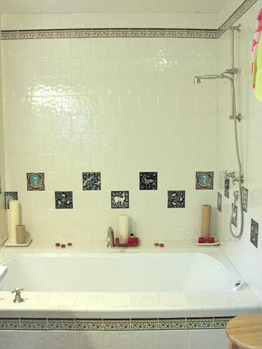 46 best images about bathtub surround on pinterest for Wood tile tub surround