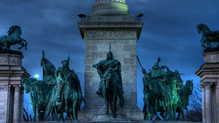 monument budapest heroes square - Google Search