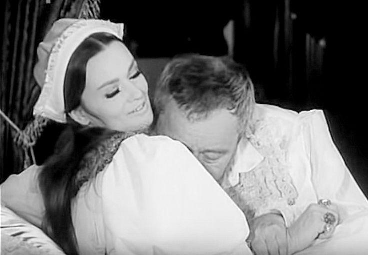 Král a žena 1968 Jana Brejchová a Jan Werich