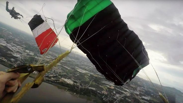 Friday Freakout: Parachute Collision + Broken Lines = Cutaway