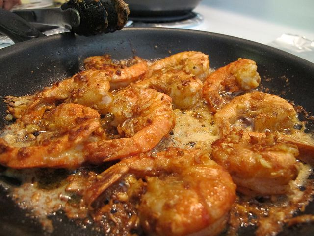 So Simple It's Silly: Hawaiian Spicy Garlic Shrimp