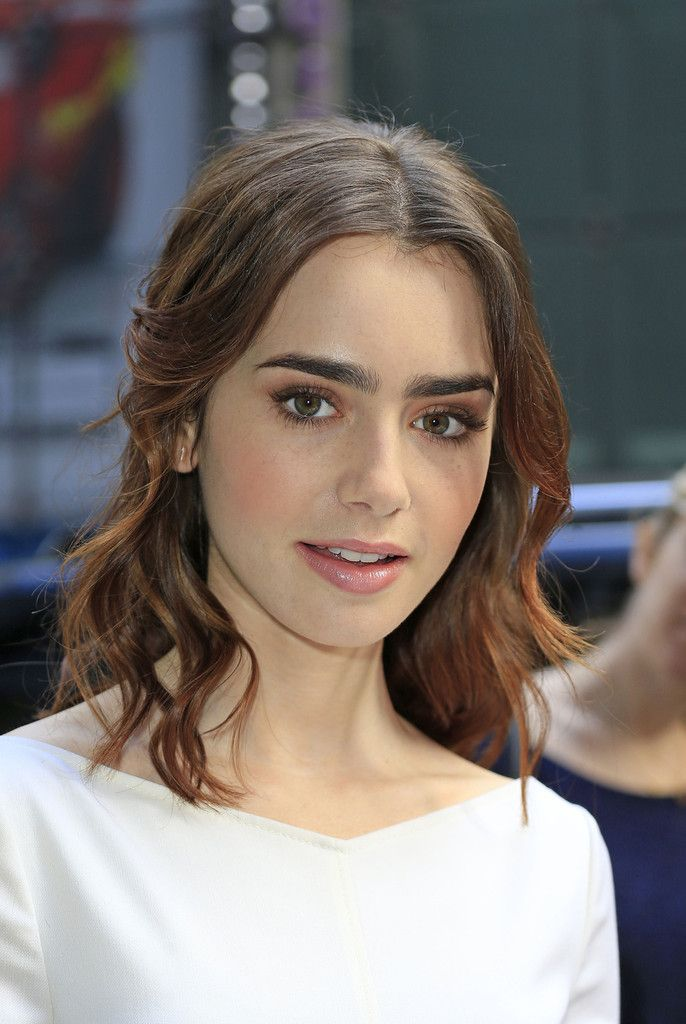 Lily Collins Is On a Beauty Hot Streak